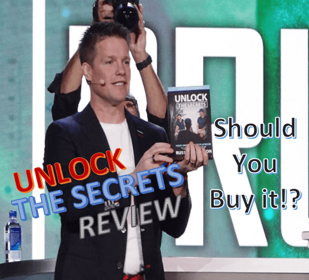 Unlock the secrets book review by russell brunson