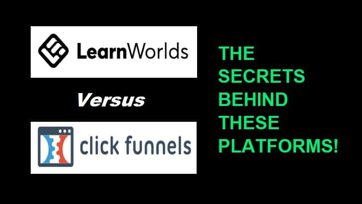 LearnWorlds Vs ClickFunnels Membership Site