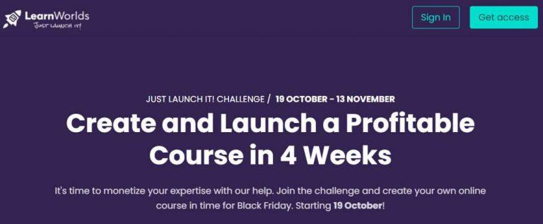 Just Launch It Challenge