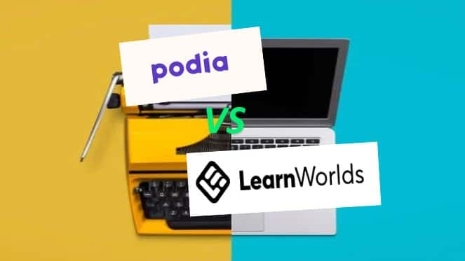 Podia Vs LearnWorlds