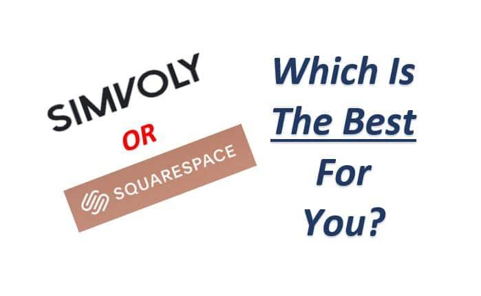 Simvoly Vs Squarespace